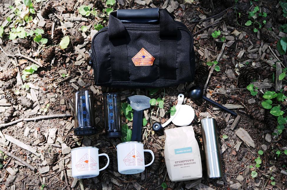 Stumptown X Poler Camp Coffee Kit Journal Nothing Major