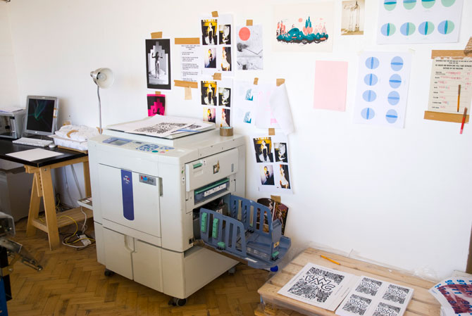 risograph printing machine